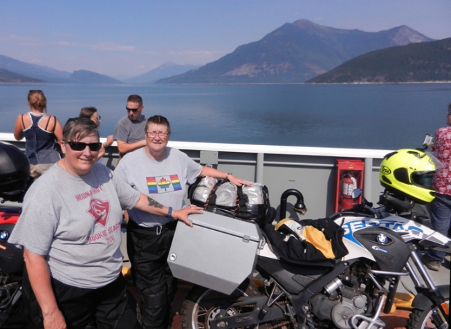 Upper Arrow Lake Ferry